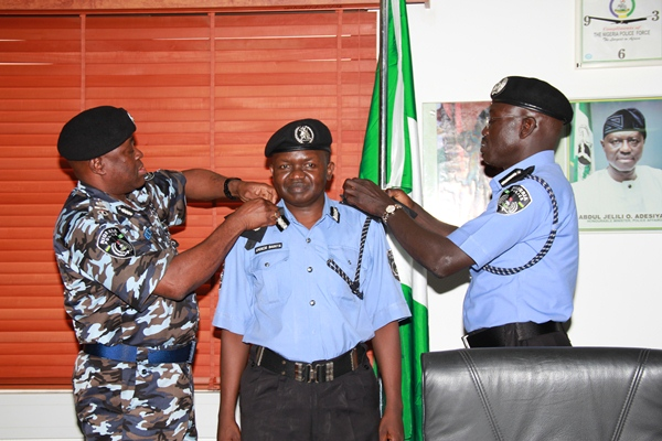 Nigeria Police elevates three to commissioners