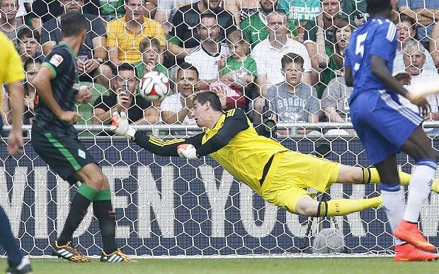 Chelsea: Mourinho defiant as he makes Thibaut Courtois his No 1 goalkeeper