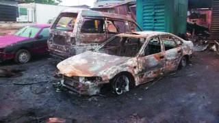 Fire Razes Lagos Plank Market