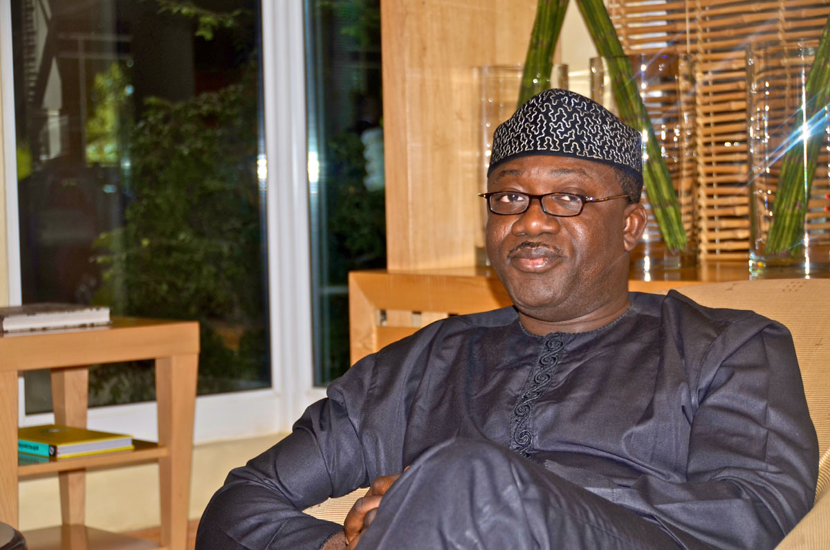 Stop telling lies about my govt, Fayemi warns PDP