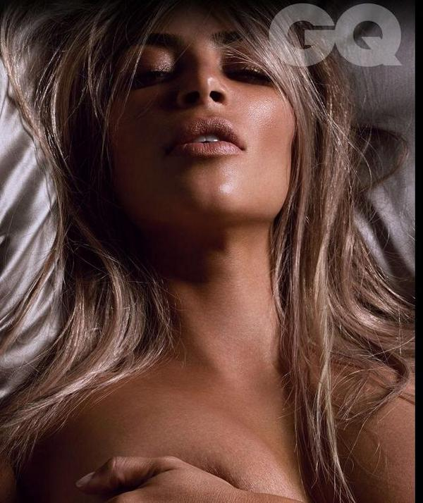 Kim Kadarshian named 'Woman of the Year' and poses fully nude for GQ
