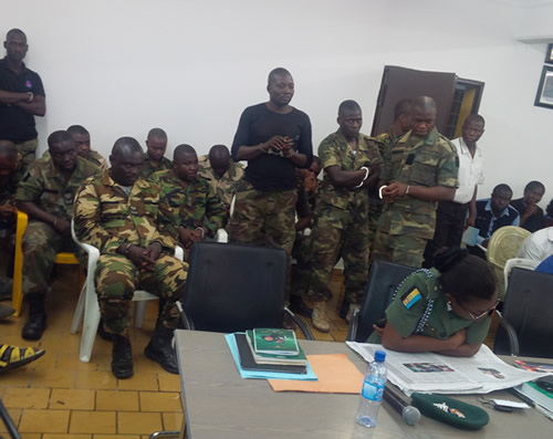 Mutiny: 12 soldiers sentenced to death