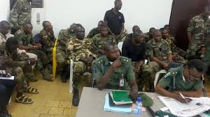 Mutiny:  Four colonels, 93 other soldiers charged to court martial