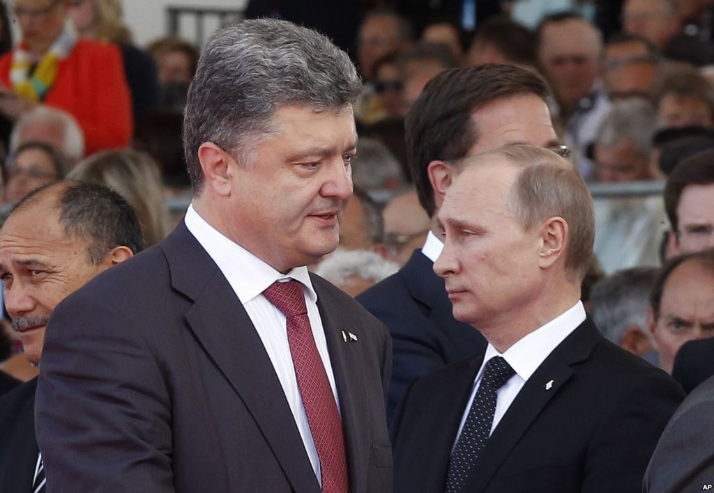 Putin, Poroshenko agree on permanent ceasefire in Donbass - Kiev