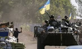 Russian forces strengthening positions in Ukraine–Kiev military
