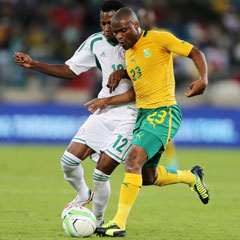 South Africa coach satisfied with team's 0-0 result against Nigeria