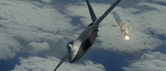 US uses F-22 stealth fighters for the first time in real combat against ISIS
