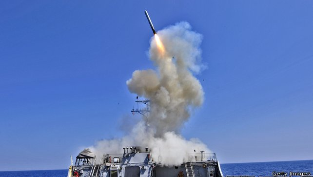 US, partner nations launch first strikes in Syria:  Pentagon