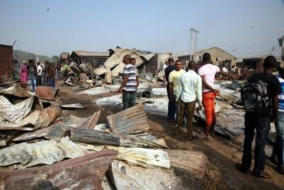 Fire guts 15 shops in Lafia main market