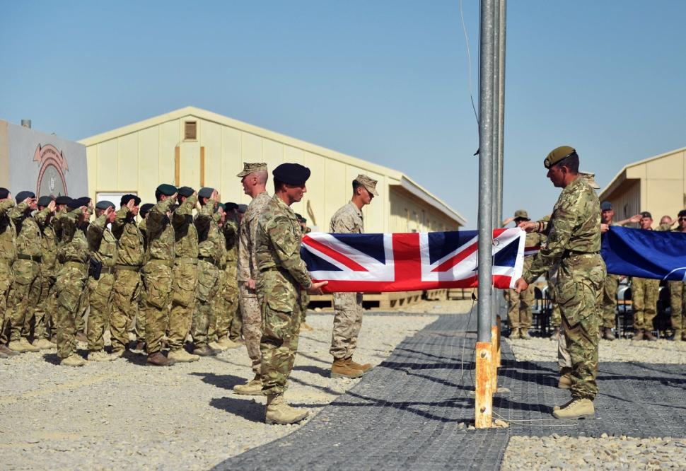 UK officially ends combat mission in Afghanistan