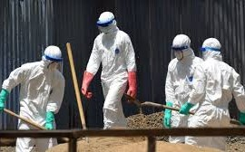 Ebola Health workers Red Cross
