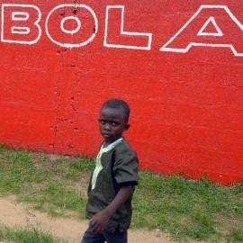 Ebola on wall