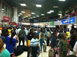 Fire incident at Murtala Mohammed Airport sparks panic