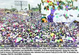 Ogun: PDP's Unification Rally Aimed To End All Political Differences