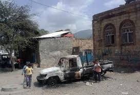 3 dead as Yemen's Shiite rebels attack Sunni party HQ