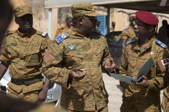 Army officer takes charge in Burkina Faso