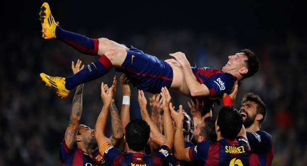Messi scores hart-trick to become CL's all-time record scorer
