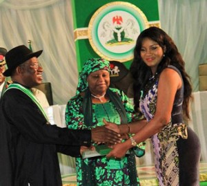 As President Jonathan hosts the entertainment industry