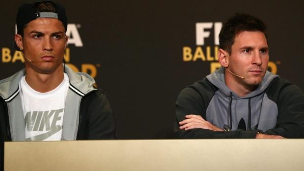 Cristiano Ronaldo threatens to sue over alleged nickname for Lionel Messi
