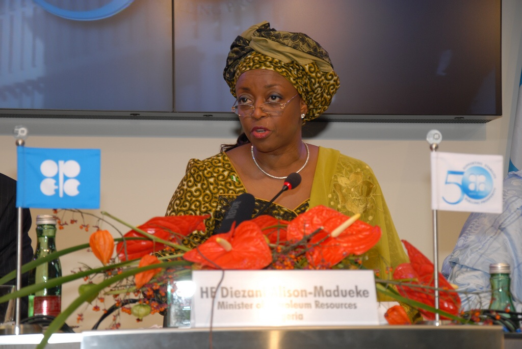 Diezani Alison-Madueke to be named OPEC president