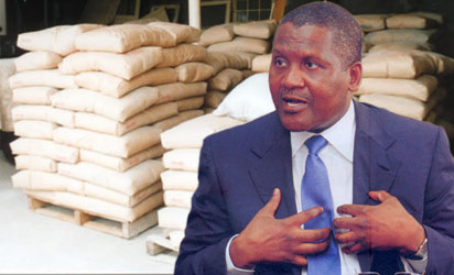 Dangote's Zambia cement factory to come on stream in 2 weeks