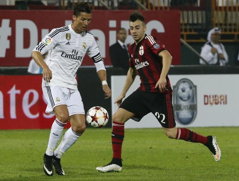 El Shaarawy leads Milan to victory over Real Madrid - THE ...