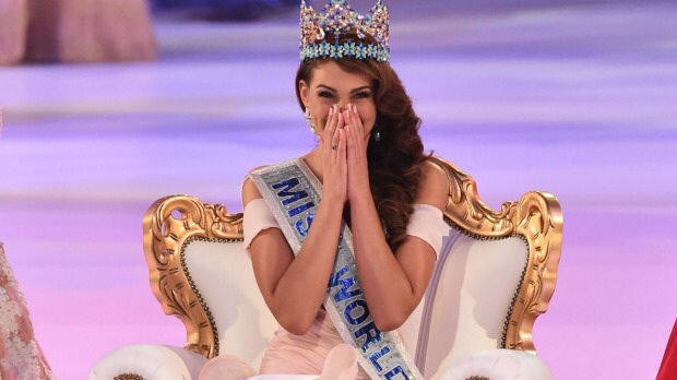 Miss South Africa Rolene Strauss crowned Miss World 2014