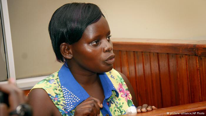 Ugandan nanny, filmed secretly assaulting toddler, sentenced to  four years