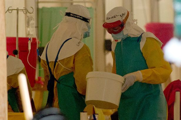 Female healthcare worker diagnosed with Ebola in Glasgow, UK