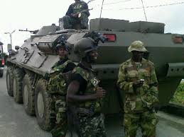 Soldiers intercept truck laden with 3600 ballot boxes in Ogun State