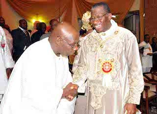 Jonathan in no-show at Obasanjo's Hilltop Mansion