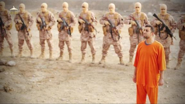 ISIS  releaes video showing the  burning alife of Jordanian pilot
