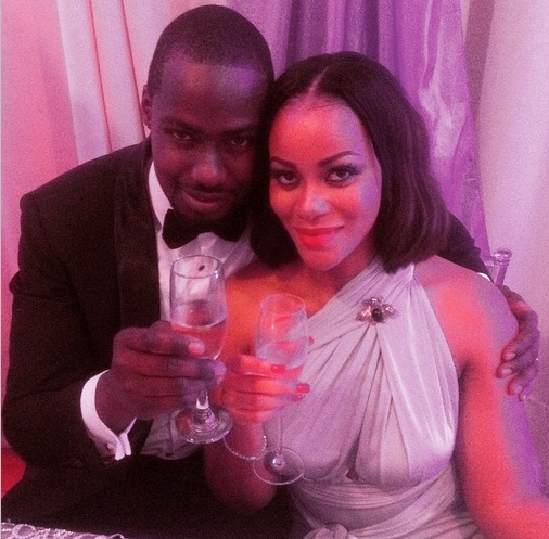 Finally, Chris Attoh weds Damilola Adegbite