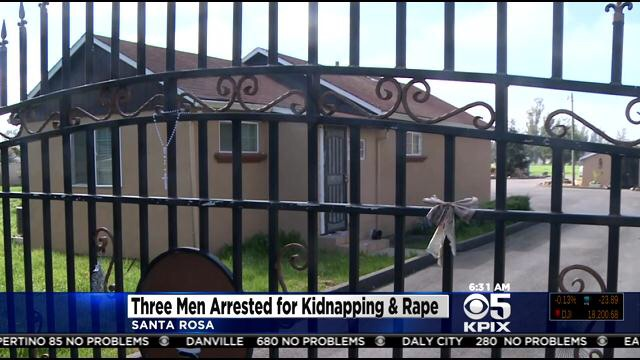 3 arrested for kidnapping, rapping woman for 2 weeks