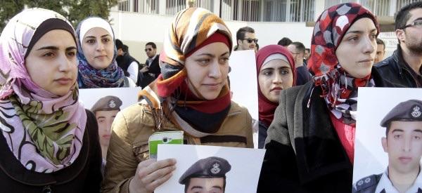 Jordan retaliates  ISIS horific  execution of pilot
