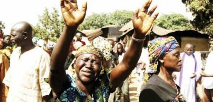 Blood flows as Fulani herdsmen kill 80 in Benue