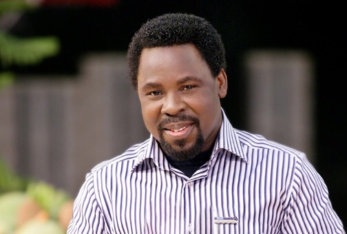Pastor TB Joshua predicts another plane crash in Nigeria