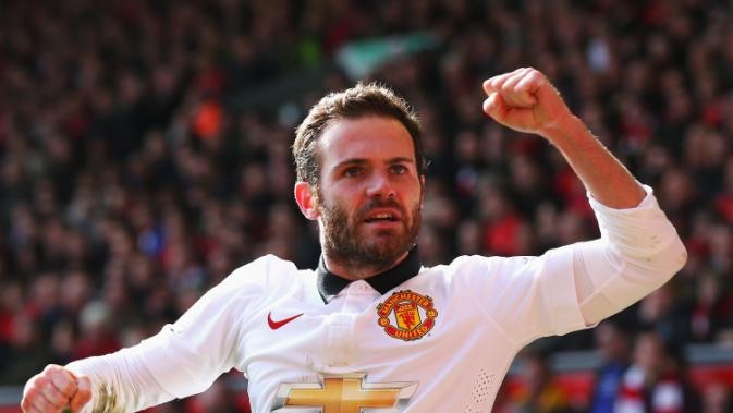 Juan Mata brace seal victory for Man United vs Liverpool at Anfield
