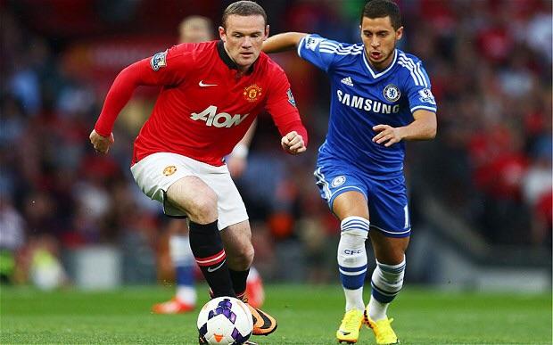 Eden Hazard goal against Man United drives Chelsea closer to title
