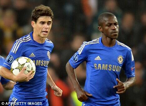 Juventus to line up double swoop for Oscar, Ramires