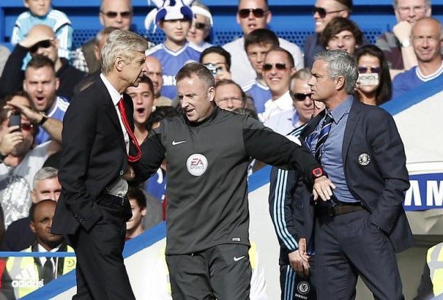 Jose Mourinho: Arsene Wenger not my rival