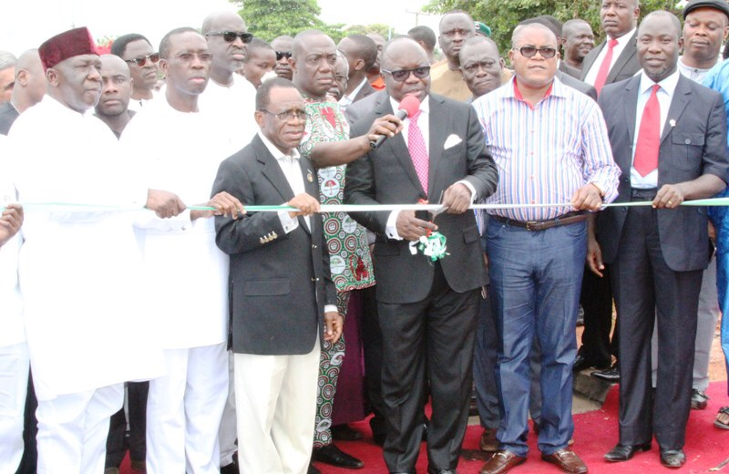 Uduaghan commissions N3.5b fly-over bridge in Asaba