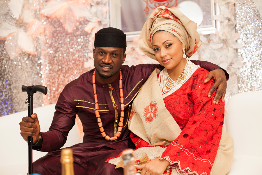 What is happening Peter Okoye's marriage?