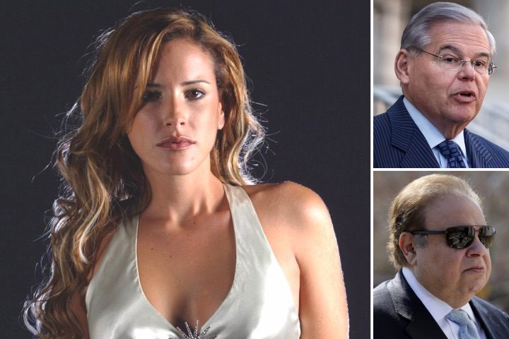 Brazilian actress's affair could take Senator Menendez