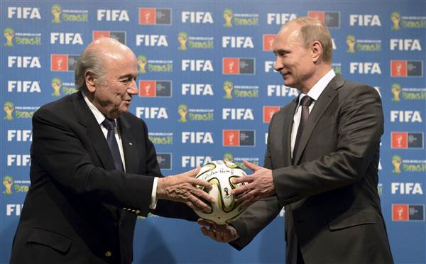 FIFA compliance head says Russia, Qatar world cups could be taken away