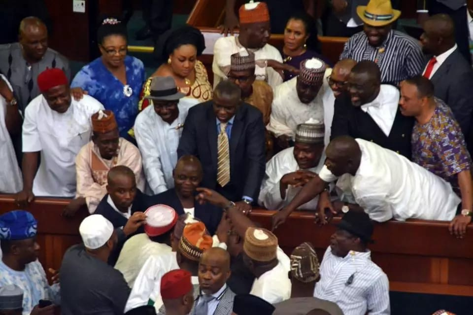 Reps engage in free-for-all over election of principal officers