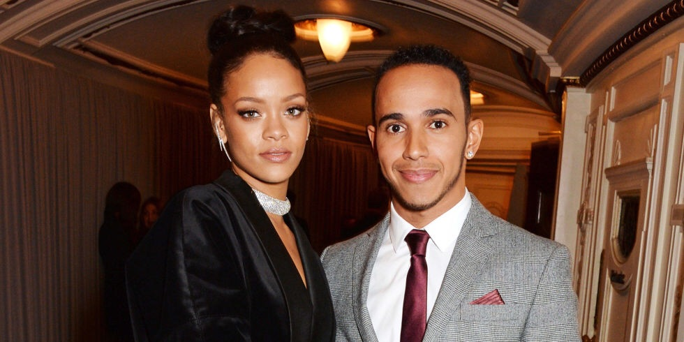 I'm so crazy about Lewis Hamilton: Rihanna