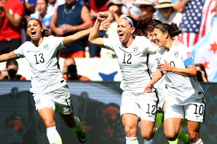 US hammers Japan 5-2 to win Women's World Cup