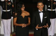 Everyone's losing their minds over Michelle Obama's amazing Vera Wang dress