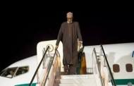 President Buhari off to London
